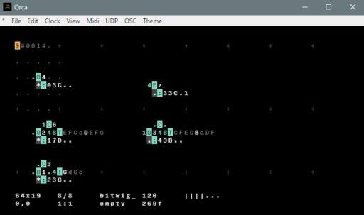 初期画面が各オペレータの機能説明のレイヤーはCtr + gで表示の切り替えができる